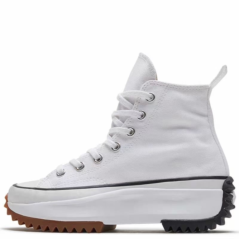Women's high canvas shoes Women's casual canvas shoes with increased height Thick-soled shoes sneakers enlarge