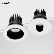 [DBF]4 différents Angle de faisceau plafond encastré Downlight Dimmable 7W 10W LED plafonnier pour cuisine chambre Pic fond