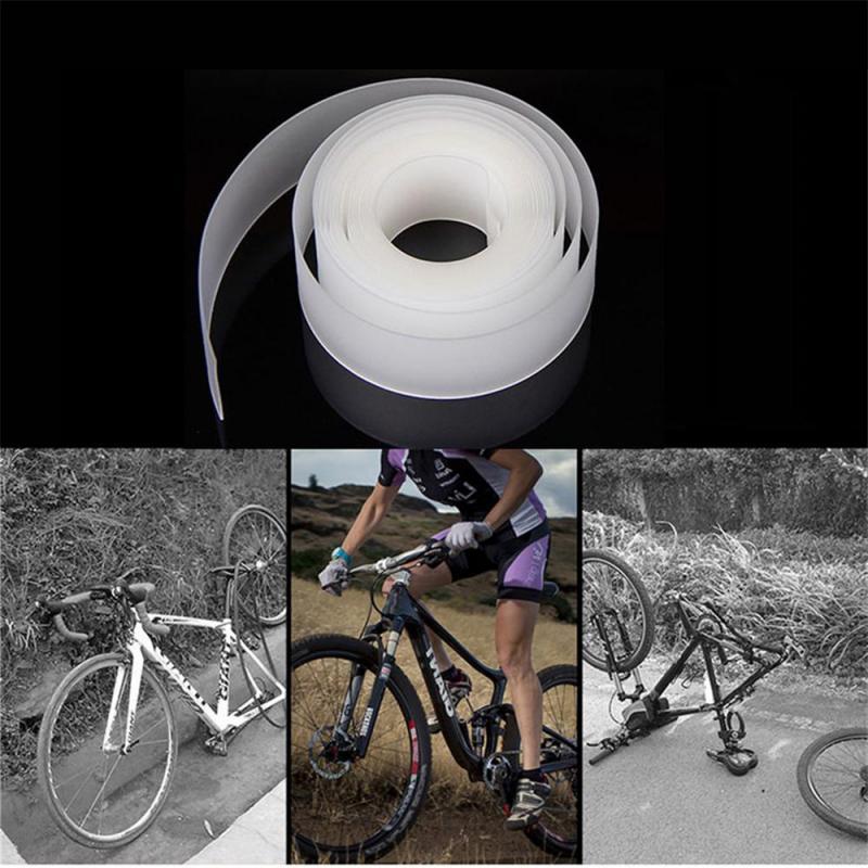 2 unids/set de protectores de neumáticos de bicicleta, pegatinas de neumáticos de bicicleta, cinturón a prueba de pinchazos, almohadillas de revestimiento de neumáticos para proteger el tubo de la bicicleta, almohadilla de punción