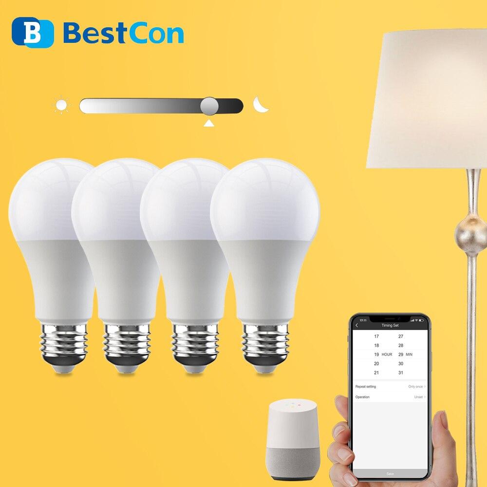 Broadlink Bestcon LB1 Smart Light Bulb Wifi Dimmable Led Lamp E27 App Voice Control Work with Google Assistant Smart Home Alexa