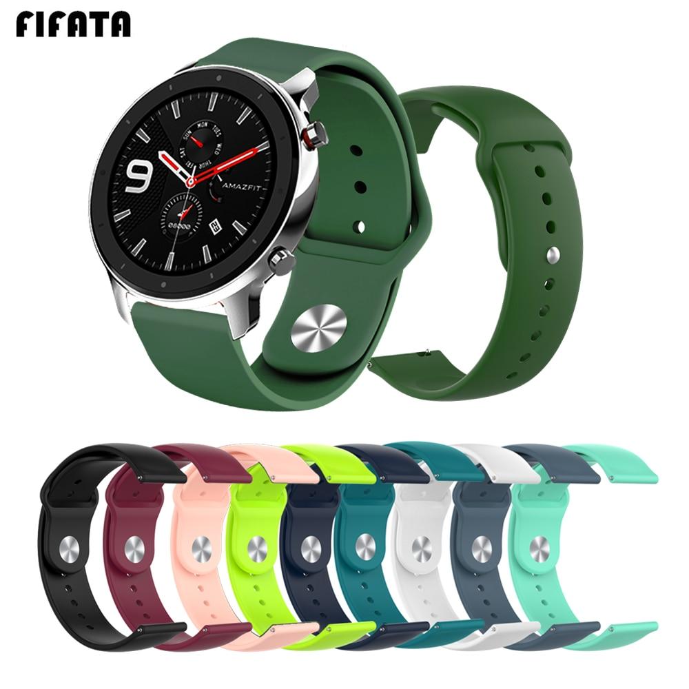 FIFATA-correa para Xiaomi Huami Amazfit GTR de 47/42mm, correa para relojes inteligentes, pulsera para Amazfit GTS BIP Stratos Pace