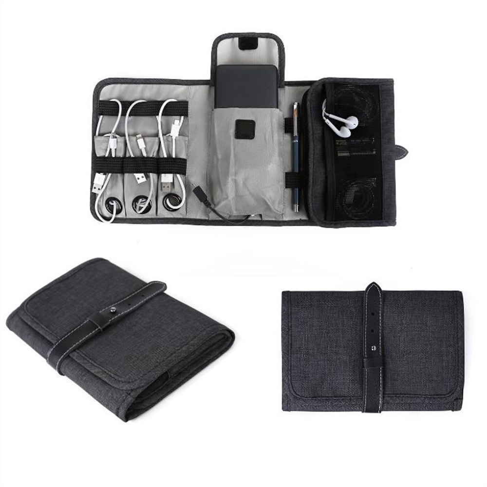 Portable Waterproof USB Flash Drives Storage Bag Travel Organizers For Digital Accessories Storage Bag