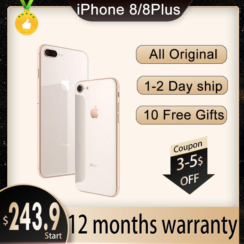Apple Store Global Version iPhone 8 Plus / iPhone 8 3GB RAM 64GB/256gb ROM Hexa Core 5.5