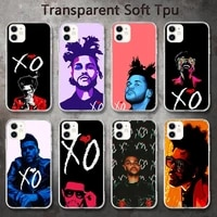 the weeknd xo phone cases for iphone 8 7 6 6s plus x 5s se 2020 xr 11 pro xs max 12 12mini