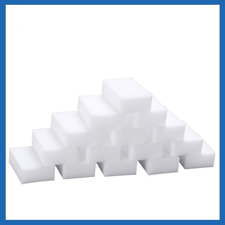 Esponja mágica de limpeza em 100, esponja de limpeza de melamina mágica, para limpar casa, cozinha, escritórios, banheiro, nanoesponjas de limpeza de 10x pçs/lote cm