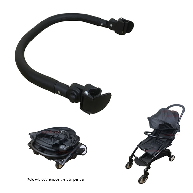 Baby Yoya Stroller Accessories Adjustable Bumper Bar Armrest Handle Bar Crossbar for  Babyzen YoYo  Pram Trolley Accessories