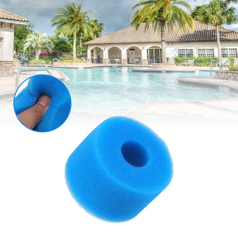 Фильтр для бассейна, многоразовый Поролоновый фильтр для бассейна, губка, очиститель, губка для бассейна, аксессуары для фильтра резервуара