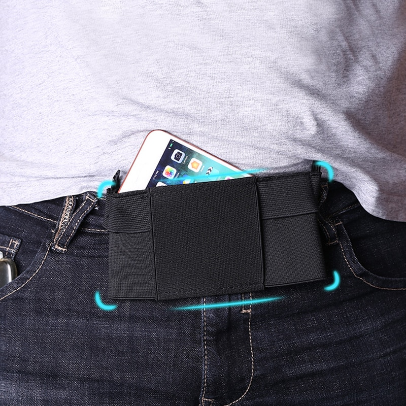 Portable Waist Bag Large Capacity Travel Running Sport Waterproof Belt Bag Phone Money Hold Chest Pouch Accessories Supplies