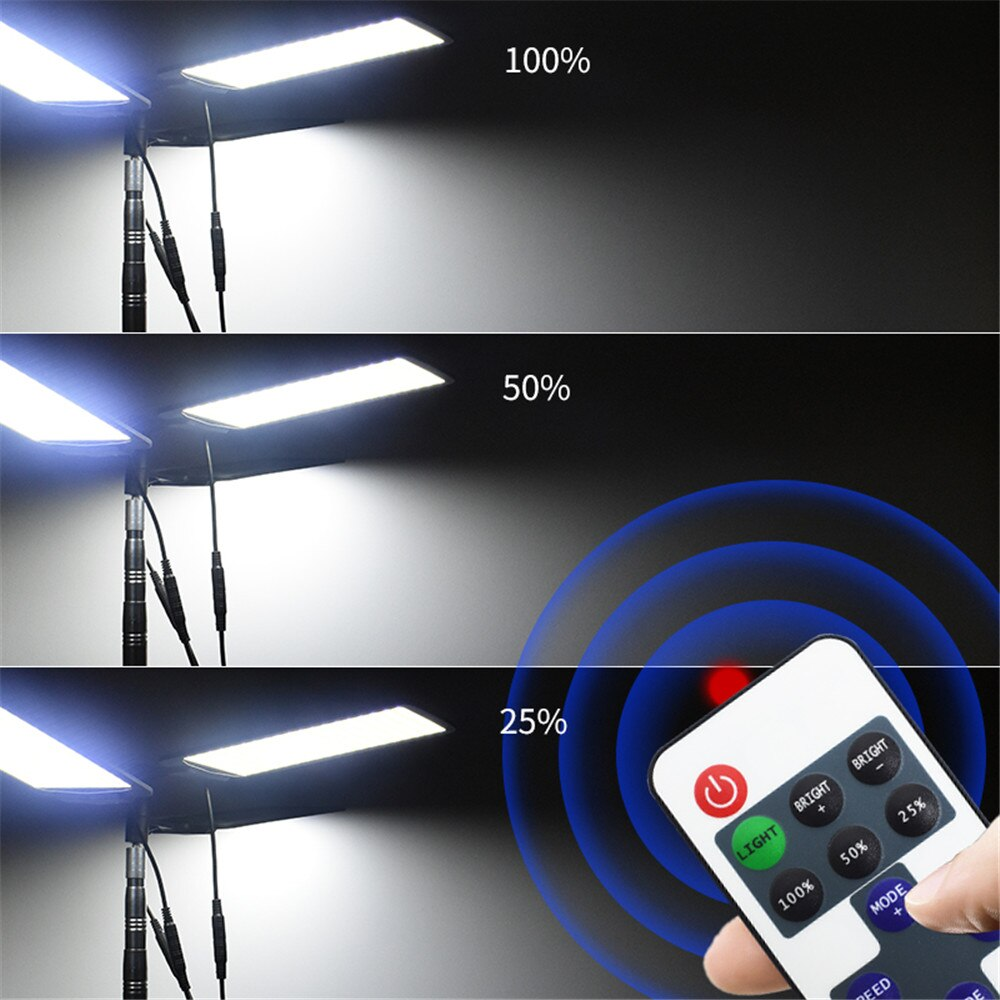 360light Portable Camping Lamp telescope LED camping light outdoor lighting for drive travel Party Lighting Photographic light enlarge
