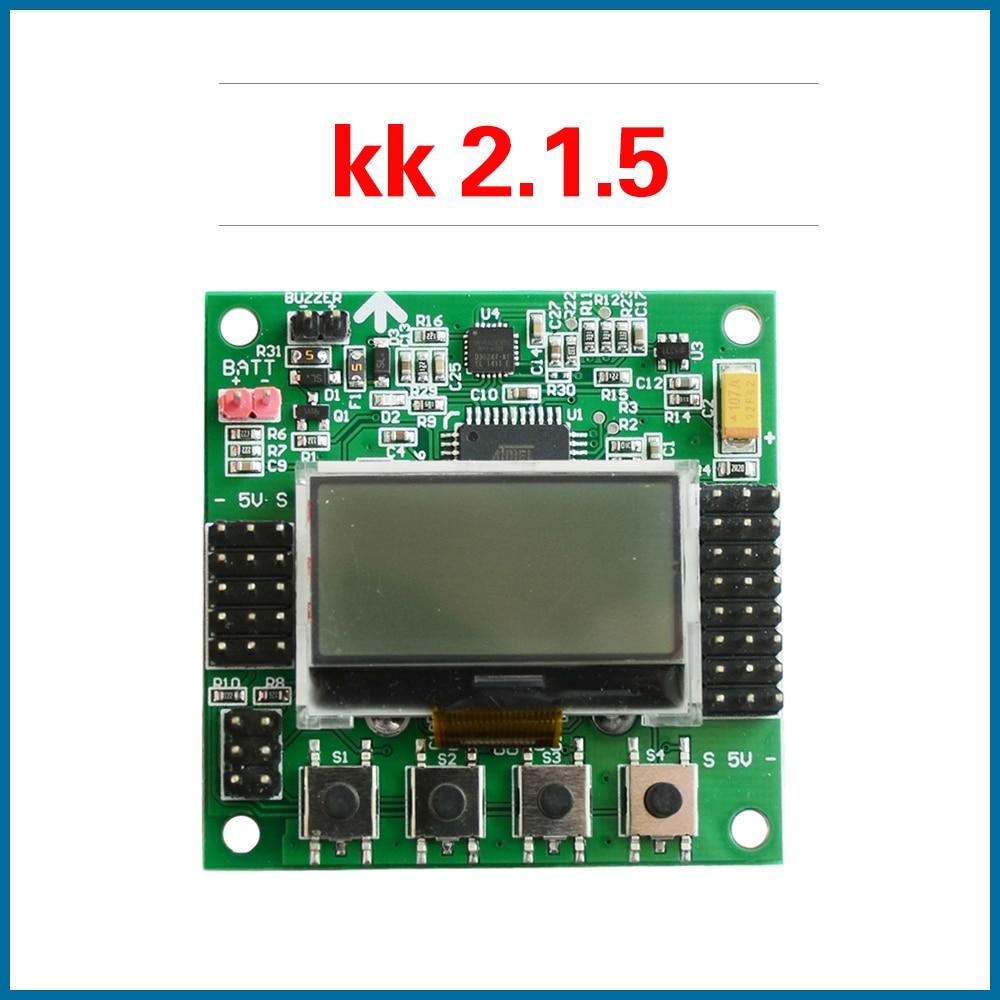 S ROBOT KK 2.1.5 LCD Multirotor Flight Control Board KK2.1.5 Newest V1.19Pro Quadcopter KK2 6050MPU 644PA Free Shipping EC22