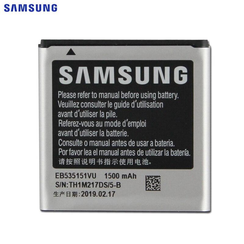 Bateria de substituição original eb535151vu de samsung para samsung galaxy s advance i9070 b9120 i659 w789 bateria do telefone 1500mah