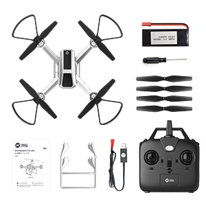 1080P HD Drone with FPV Camera for Adults and Kids, Easy Quadcopter HS140 for Beginners with Altitude Hold, APP Control, 17Mins enlarge