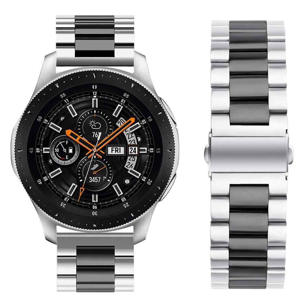 Compatible Samsung Gear S3 Bands strap Galaxy Watch 46mm strap  Bands 22mm Stainless Steel Metal Replacement Strap Bracelet watch strap new accessory watch strap solid stainless steel fashion luxury women metal strap bands for fitbit ionic strap