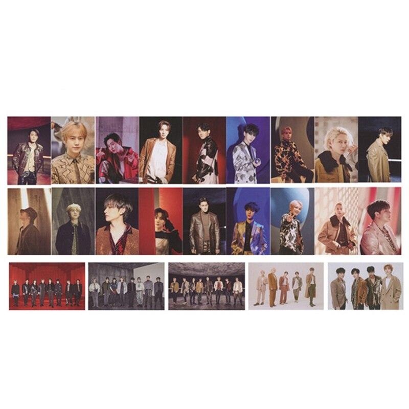 2 uds/5 uds KPOP SUPER JUNIOR vez menos nuevo álbum foto Tarjeta de tarjetas de PVC de hecho LOMO tarjeta Photocards