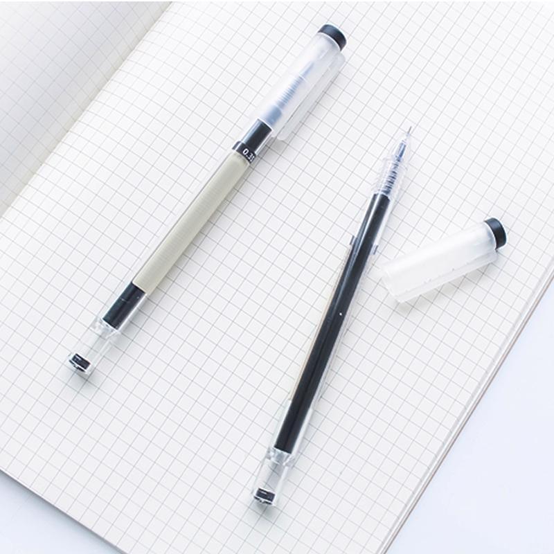 12 Pcs/Set Simple Style Ballpoint Gel Ink Pen 0.35mm School Office Stationery UND Sale