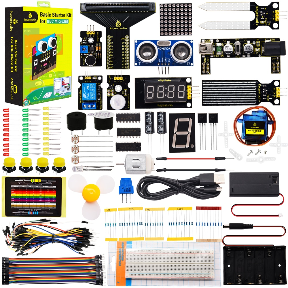 Keyestudio Microbit Basic Starter Kit Diy Elektronische Kit für BBC Microbit