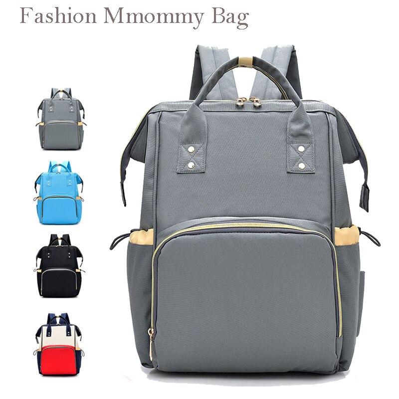 Diaper Bag Backpack Mummy Maternity Nappy Bag  Large Capacity Baby Bag Travel  Stroller Bag Nursing Bag for Baby Care недорого