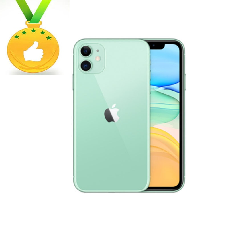 Apple Store Global Version Apple iPhone 11 IOS A13 64GB/128GB/256GB 3110mAh dual 12MP camera A13 chip 6.1 inch LCD screen LTE 4G