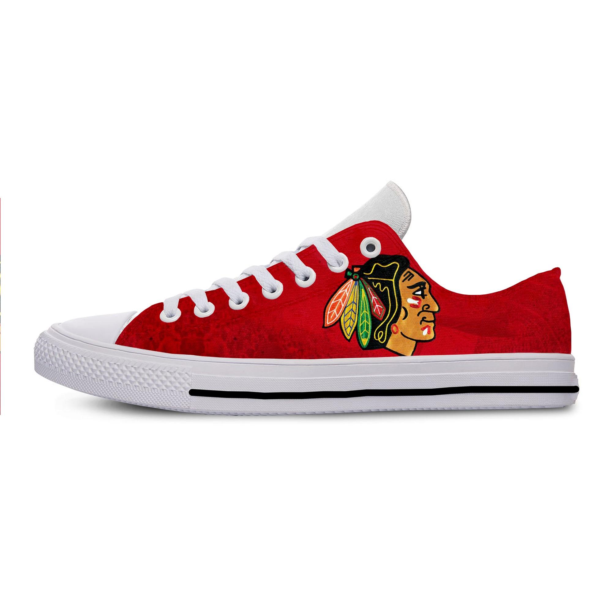 أحذية رياضية أنيقة للرجال والنساء موضة 2019 أحذية رياضية مريحة للجنسين برباط من شيكاغو