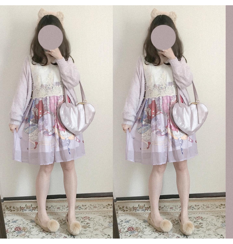 Vestido de estilo Preppy princesa dulce lolita encantador Vestido de manga larga falbala alta cintura victoriana vestido kawaii chica gótica lolita op