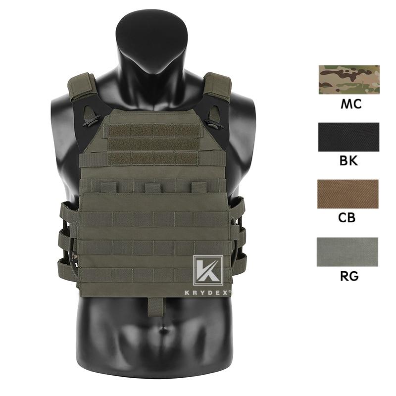 KRYDEX Tactical JPC2.0 Plate Carrier Vest High Speed Instant Cummerbund/Shoulder Strap Quick Release Assaulter Armor Vest RG