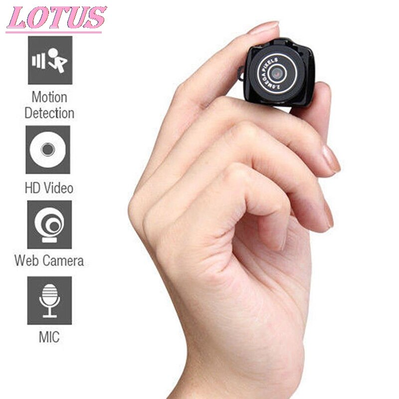 1PC HOT Y2000 Mini Camera Camcorder HD 1080P Micro DVR Camcorder Portable Webcam Recorder Camera Min