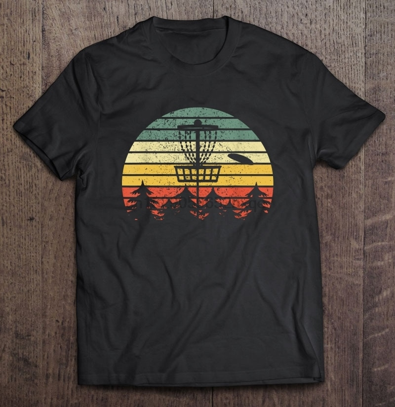 Männer Lustige T Shirt Mode t-shirt Vintage Disc Golf Version(1) Frauen t-shirt