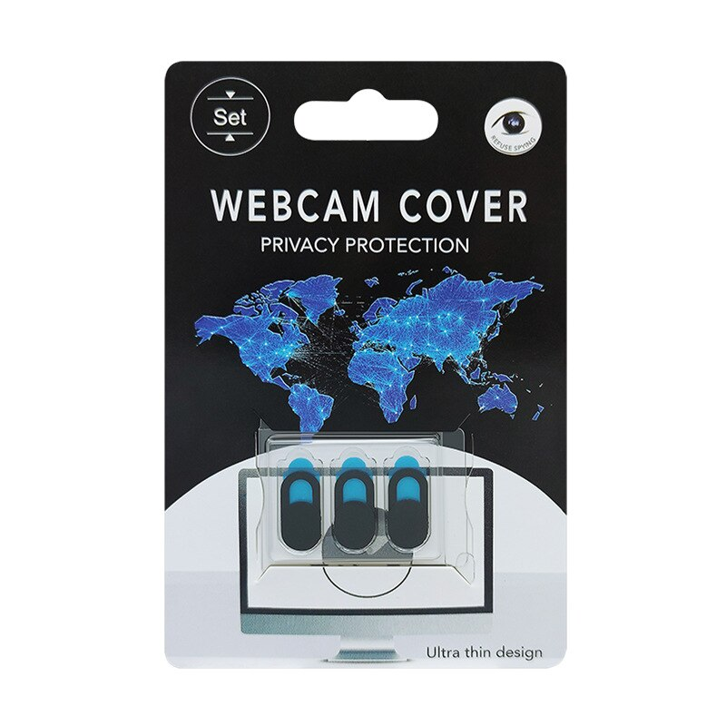 3Pcs Webcam Cover Universal Phone Antispy Camera Cover For iPad Web Laptop PC Macbook Tablet lenses