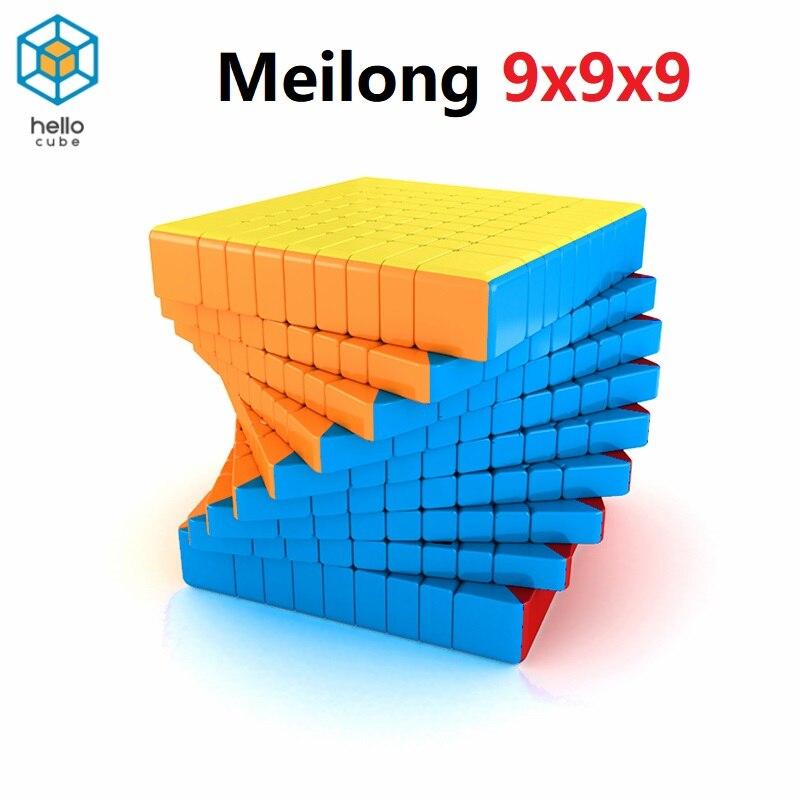 HelloCube MoYu MF9 المكعب السحري Meilong 9x9x9 مكعب ماجيك 9 طبقات شكل 9x9 سرعة لغز Cubo ألعاب تعليمية العاب اطفال