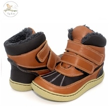 COPODENIEVE Top Brand Barefoot Genuine Leather Baby Toddler Girl Boy Kids Shoes For Fashion Winter S