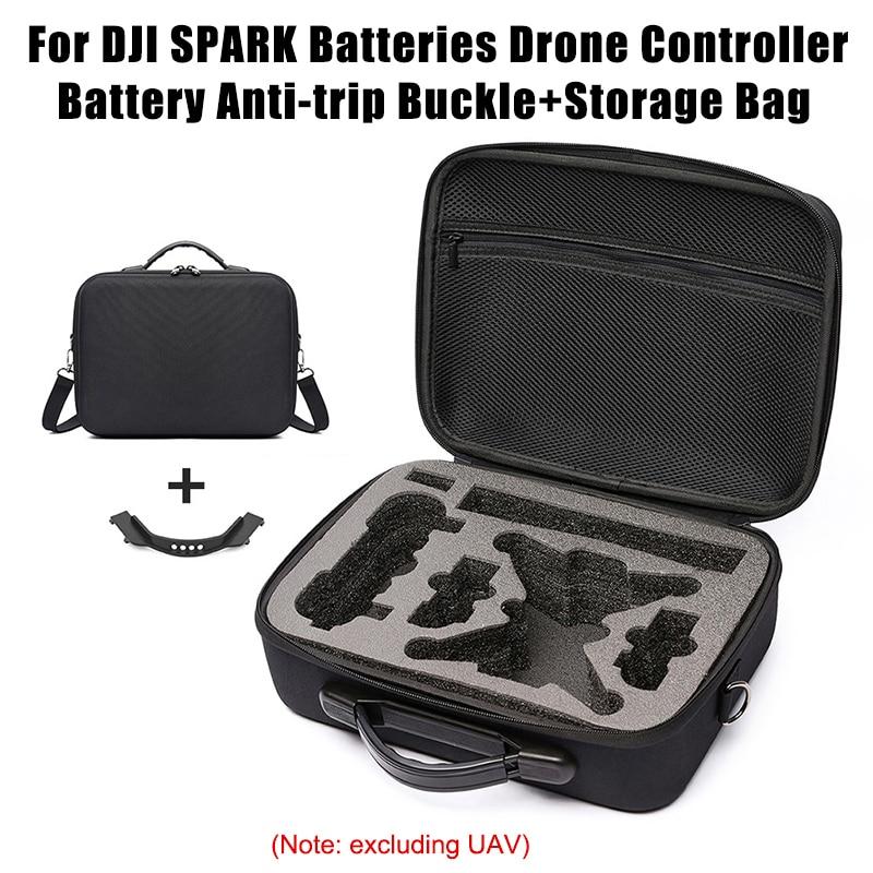 Bolsa de almacenamiento de Estuche de transporte impermeable portátil con hebilla de batería para DJI Spark GK99