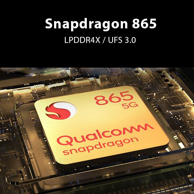 Фото1 - Глобальная версия черного цвета с изображением акулы 3 5G Snapdragon 865 8 ГБ 128 игры телефон Octa Core 64MP тройной AI камерами 65 Вт Зарядное устройство 4720 м...