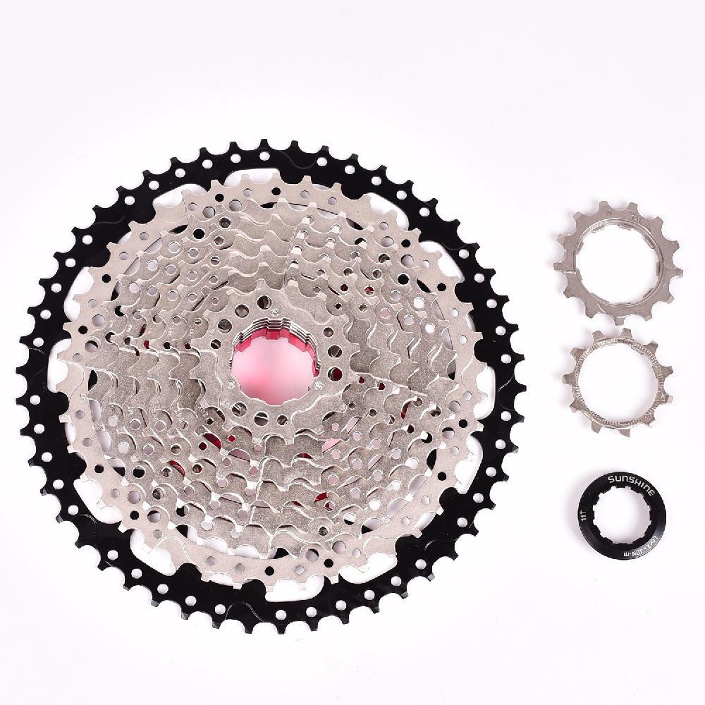 Дисковая кассета для велосипеда 11-46T 42T 50T 10 скоростной широкий коэффициент MTB горный велосипед маховик MTB части велосипеда