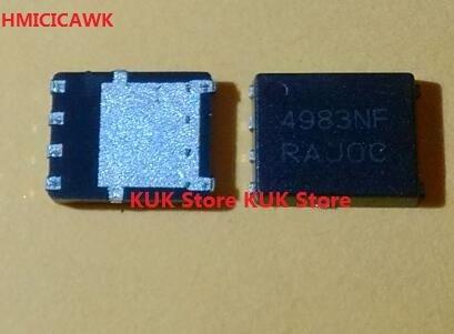 HMICICAWK Original 100% nuevo 4983NF NTMFS4983NFT1G NTMFS4983NF QFN8 10 unids/lote