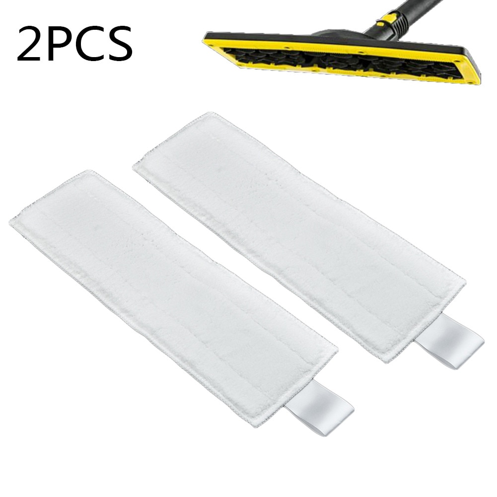 2pcs replacement steam mop pads for shark s3973 s6001w steam mop cloth cover pad floor steam cleaner mops for shark s5003a s6002 2pcs Mop Cloth Fit Mop Cloth Cleaning Pad Cloth Cover For Karcher EasyFix SC1 SC2 SC3 SC4 SC5 Steam Mop Cleaner Spare Parts