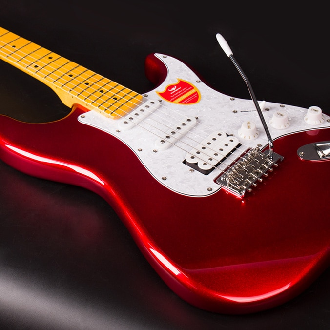 Guitarra portátil de alta calidad, pastilla eléctrica, instrumento de precisión de cuello...
