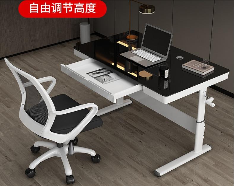 رفع مكتب الكمبيوتر مكتب الأطفال تعلم الكتابة مكتب مكتب المنزل دليل قابل للتعديل منضدة
