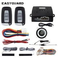 EASYGUARD Keyless Hot Sale Universal Entry System Start Stop Pke Car Alarm System Start Stop Button Car Remote Engine Start