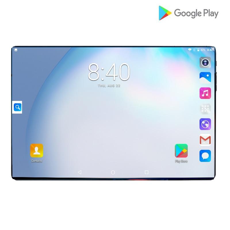 2021 أندرويد 4G LTE 10.1 شاشة الكمبيوتر اللوحي موتلتي تاتش أندرويد 8.0 ثماني النواة Ram 6GB ROM 128GB كاميرا 5mp واي فاي 10 بوصة اللوحي