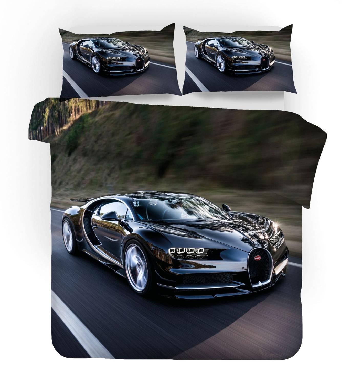 Carros capa de edredão conjunto gêmeo rainha tamanho fórmula carro corrida automóvel motorizado tema esportes forte motor 3 pcs jogo cama presentes