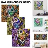 livingroom decoration painting diamond painting special diamond embroidery owl diamond painting rhinestone home decoration