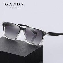 Polarized Sunglasses Men and Women Fashion Square TR90 Frame Sun Glasses Classic Rivet Rays Brand De