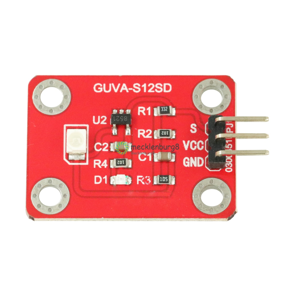 UV Sensor GUVA-S12SD Solar UV Intensity Sensor for Arduino / Raspberry Pi