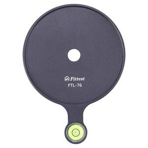 Приспособленных 76 мм Диаметр дополнительные смещенным уровнем пузыря доска, зеркальной камеры шаровая Головка для штатива-трипода из RRS Камера Алюминий сплав с пузырьковым уровнем