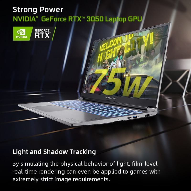 911MT Gaming Laptop RTX3050 i5-11260H Laptop 15 6 inch 144Hz IPS FHD Notebook Computer Windows 10 Pro Laptops 2 Years Warranty