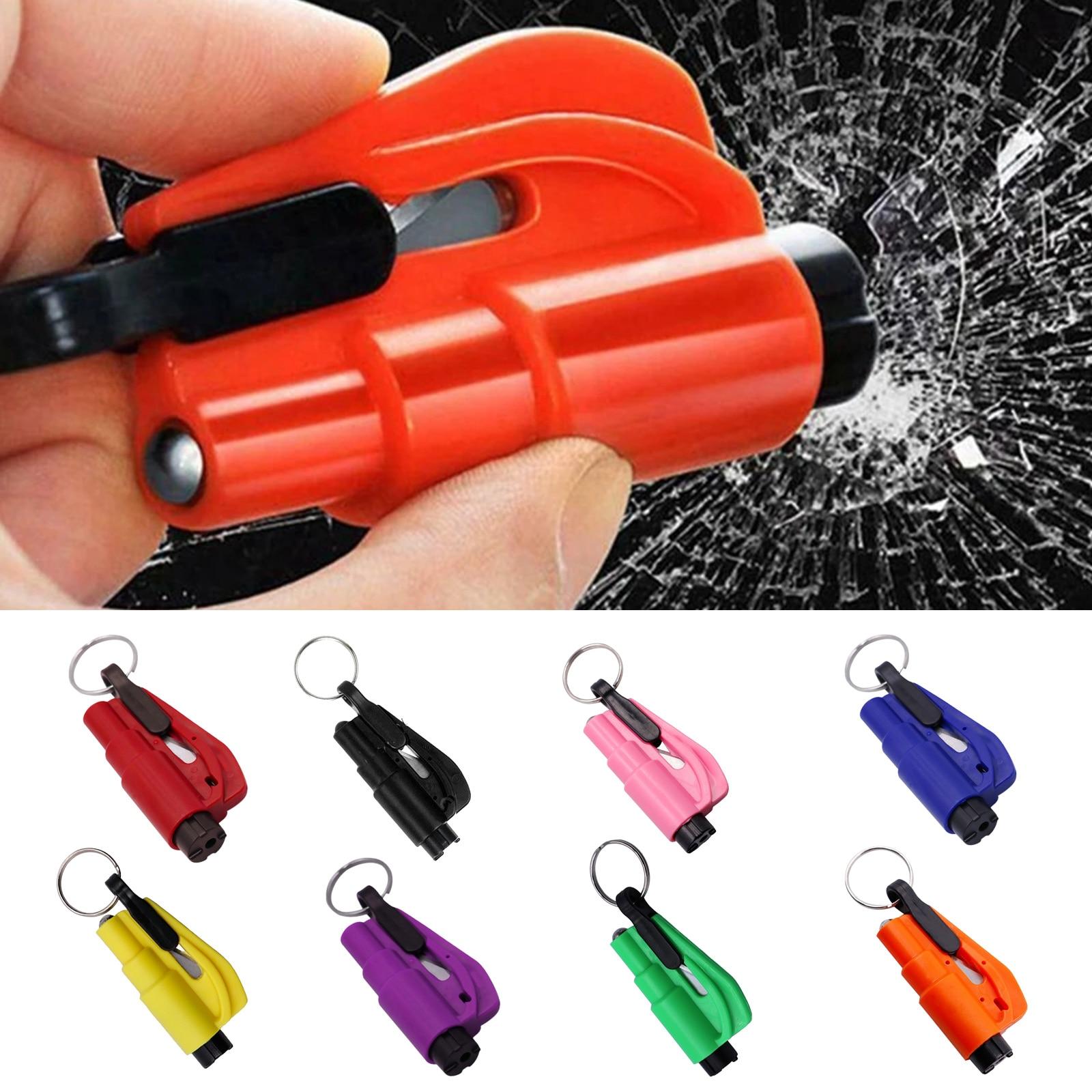 Автомобильный Безопасность молоток Весна Тип, аварийный молоток с оконный брейкер, Удар ремня безопасности Cutter2 в 1-м автомобилем Безопасно...