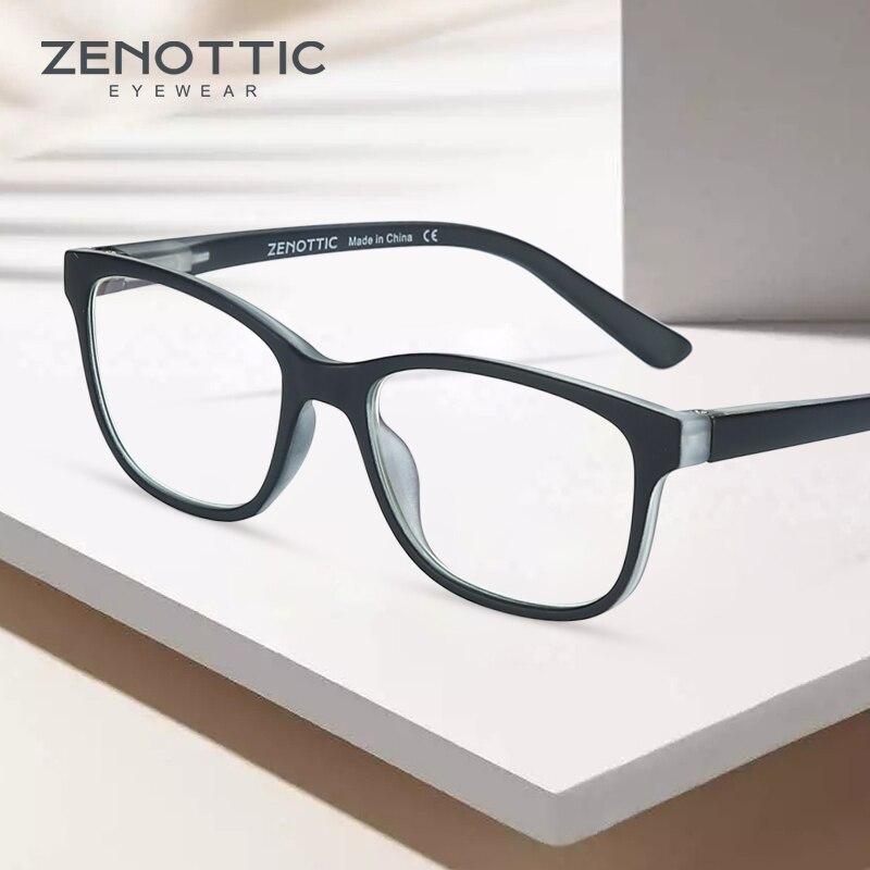 Gafas de bloqueo de luz azul ZENOTTIC para niños, niños y niñas, gafas de Juegos de ordenador de Rayo Azul, gafas ópticas para Miopía