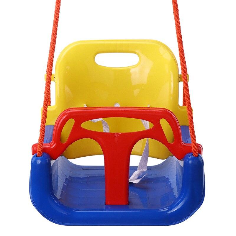 Качели детские 3 в 1, многофункциональные подвесные корзины для детей 3-14 лет, уличная игрушка, детские качели, съемные качели для внутреннего...