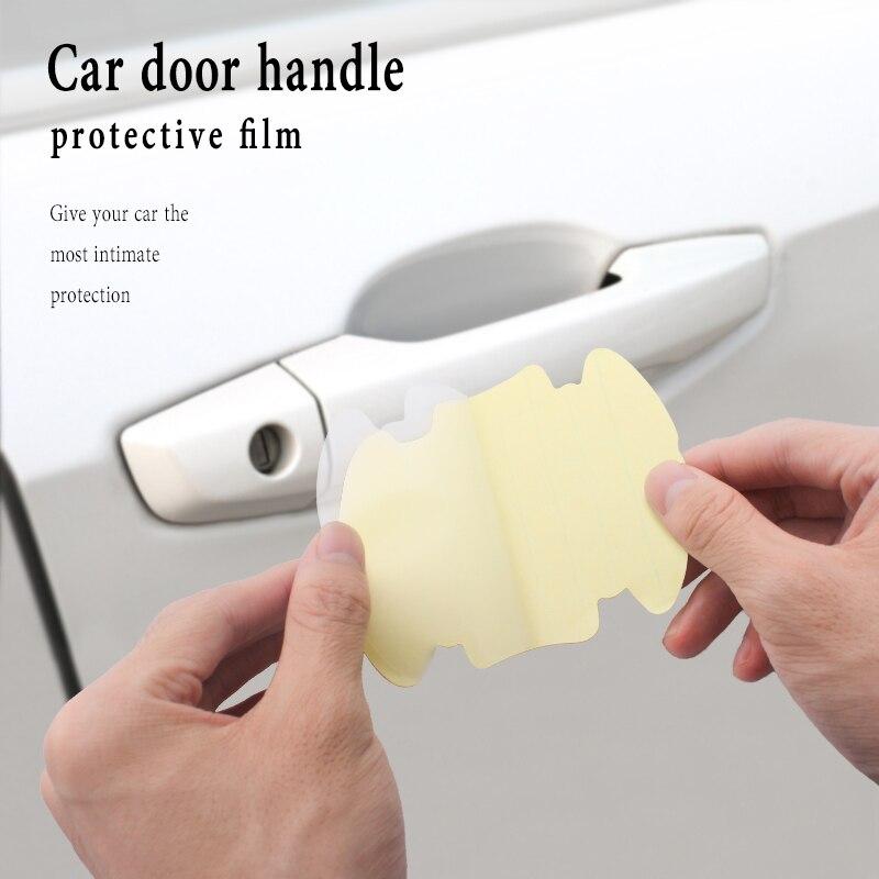4 Stuks Auto Deurklink Stickers Protector Film Voor Kia Rio K2 K3 K4 K5 KX3 KX5 Cerato Soul Forte sportage R Sorento Optima