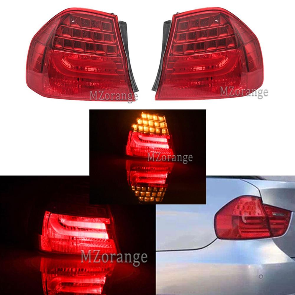 MZORANGE LED Rear Tail Light For BMW 3 SERIES E90 2008 2009 2010 2011 Warning Signal Stop Brake Lamp Taillight Car Assembly